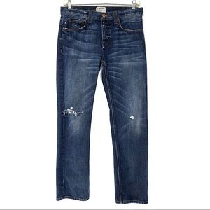 Current/Elliott Jean Relaxed Straight Baughmann 33